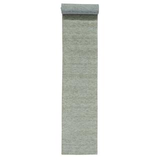 XL Runner Loomed Modern Gabbeh Pure Wool Oriental Rug (2'7 x 18'2)