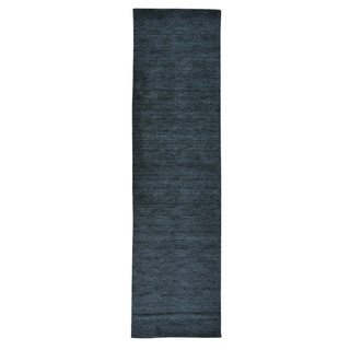 Runner Pure Wool Thick and Plush Loomed Gabbeh Rug (2'7 x 9'7)