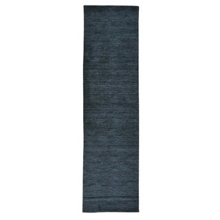 Runner Pure Wool Thick and Plush Loomed Gabbeh Rug