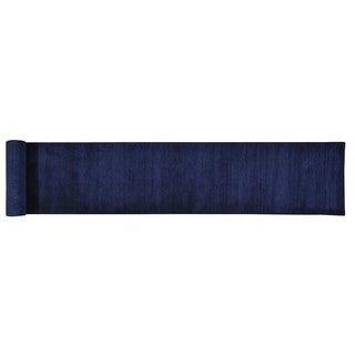 Pure Wool Loomed Gabbeh XL Runner Oriental Rug (2'7 x 19'5)