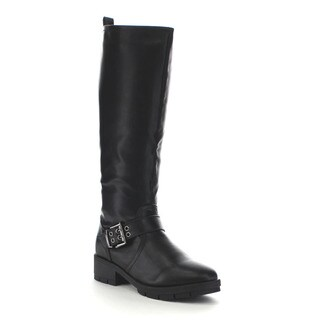 Beston Ga19 Women's Fashion Lug Sole Riding Boots