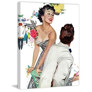 Marmont Hill - Ball Date Painting Print on Canvas