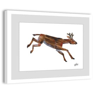 Marmont Hill - Mule Deer by Eric Carle Painting on Framed Print