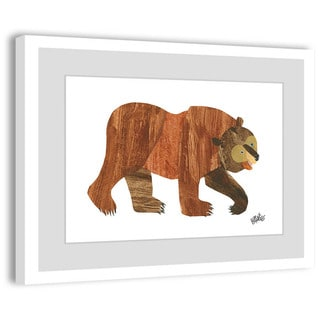 Marmont Hill - Brown Bear by Eric Carle Painting on Framed Print