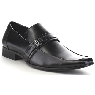 Beston Ea33 Men's Men's Metal Strap Slip On Formal Dress Shoes
