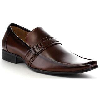 Beston Ea33 Men's Men's Metal Strap Slip On Formal Dress Shoes