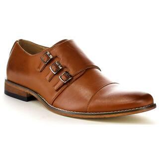 UV SIGNATURE EA27 Men's Chic Cap Toe Monk Strap Dress Shoes (Option: Grey)|https://ak1.ostkcdn.com/images/products/10807122/P17852867.jpg?impolicy=medium