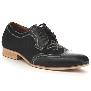 Ferro Aldo Mfa-19383le Men's Perforated Wing Tip Oxford Dress Shoes