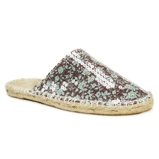 Muk Luks Women's Brown Hannah Scuff Sandals