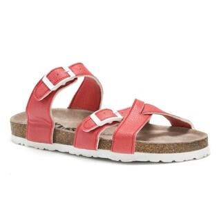 Muk Luks Women's Orange DeeDee Sandals