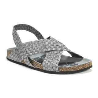 Muk Luks Women's Grey Morgan Wedge Sandals