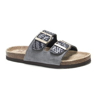 Muk Luks Women's Grey Marla Sandals