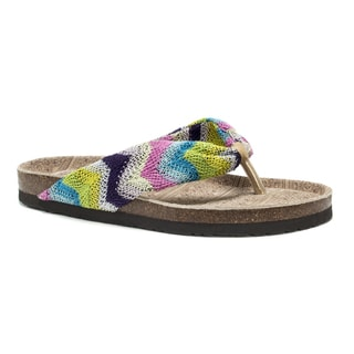 Muk Luks Women's Multi Julia Sandals