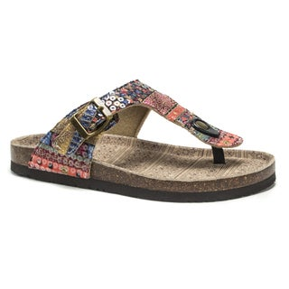 Muk Luks Women's Multi Tina Sandals