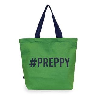Sloane Ranger #Preppy Canvas Tote Bag