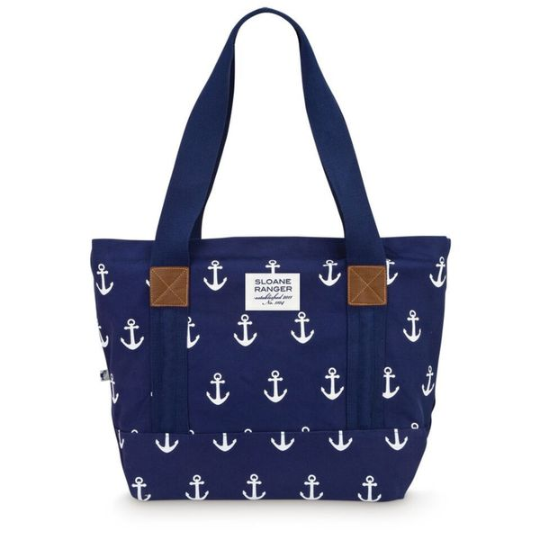 Shop Sloane Ranger Anchor Canvas Tote Bag Free Shipping