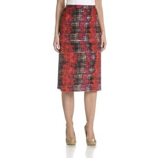 Allison Taylor Women's Printed Pencil Skirt