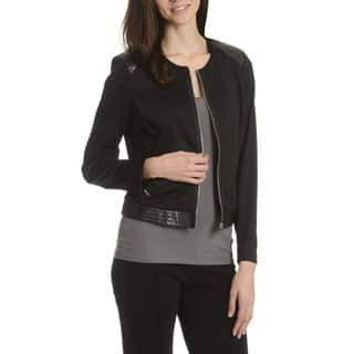 Sunny Leigh Women's Full Zip Jacket|https://ak1.ostkcdn.com/images/products/10807500/P17853194.jpg?impolicy=medium