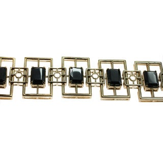 One-of-a-kind Michael Valitutti Sterling Silver Hematite Bracelet