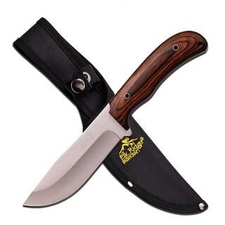 Elk Ridge Fixed Knife 10.5-inch with Pakkawood Handle