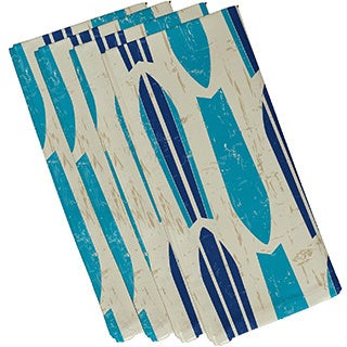 Dean Geometric Print 19-inch Napkins (Set of 4)