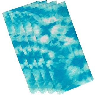 Chillax Geometric Print 19-inch Napkins (Set of 4)