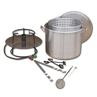 King Kooker Cooker and 80-quart Pot Boiling Combo Package