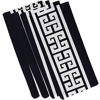 Key Stripe  Print 19-inch Napkins (Set of 4)
