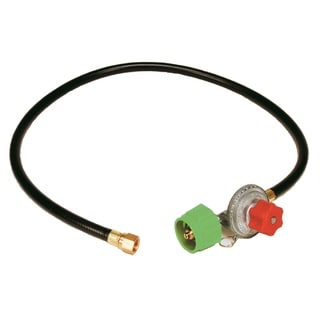 King Kooker HP Adj. Regulator and Hose with Female End