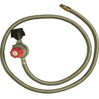 King Kooker HP Regulator and SS Hose Female Flare End