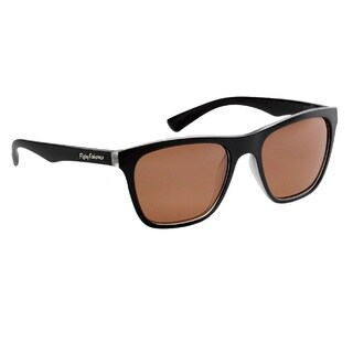 Flying Fisherman Fowey Crystal Matte Black Frame/ Copper Lens