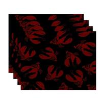 Lobster Fest Animal Print Placemats (Set of 4)