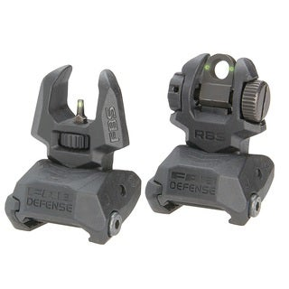Meprolight Front and Rear Flip-up Sights with Tritium