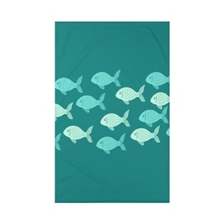 Fish Line Animal Print 50 x 60-inch Throw Blanket