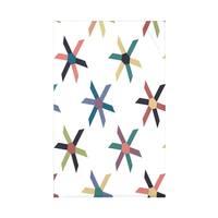 Pinwheel Pop 50 x 60 Geometric Print Throw Blanket