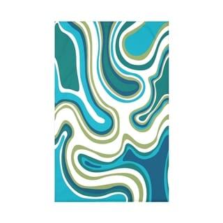 Agate Geometric Print 50 x 60-inch Throw Blanket