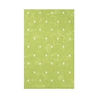 Dorothy Dot Geometric Print 50 x 60-inch Throw Blanket