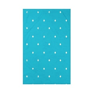Dorothy Dot Geometric Print 50 x 60-inch Throw Blanket