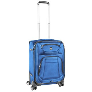 Ful Sequential Cobalt Blue 20-inch Carry-On Spinner Upright Suitcase