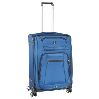 Ful Sequential Cobalt Blue 24-inch Spinner Upright Suitcase