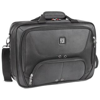 Ful Black 17-inch Laptop Messenger Bag