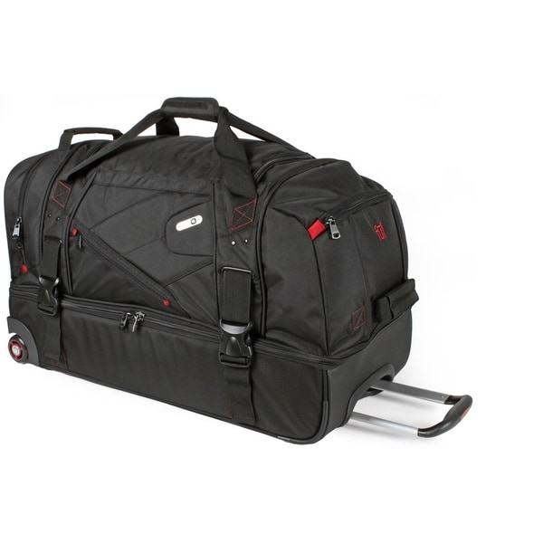 Ful Tour Manager Deluxe 30 Inch Rolling Drop Bottom Duffel Bag