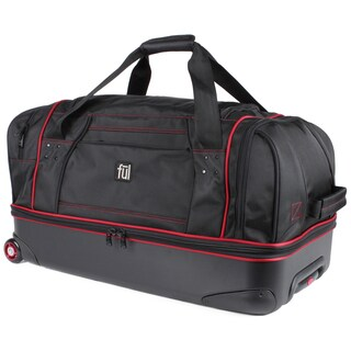 Ful Hybrid 28-inch Drop-bottom Rolling Duffel Bag