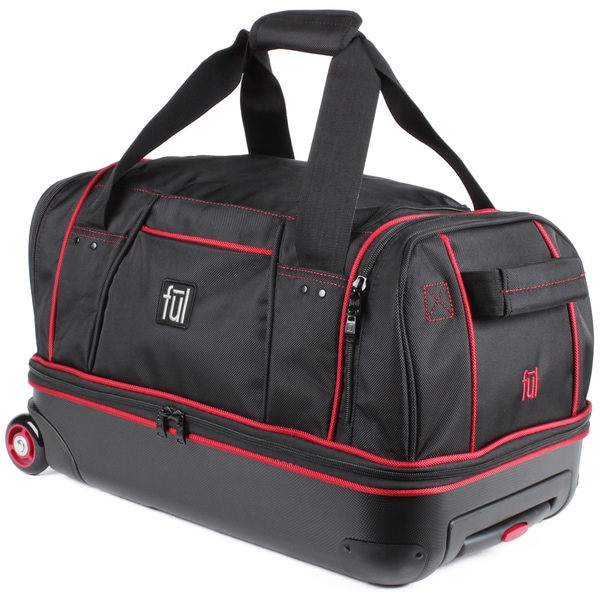 Shop Ful Hybrid 21 Inch Carry On Drop Bottom Rolling