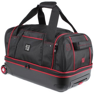 Ful Hybrid 21-inch Carry On Drop Bottom Rolling Duffel Bag