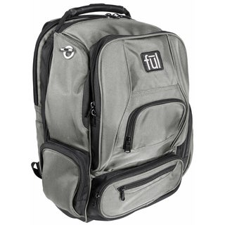 Ful Upload Grey 17-inch Laptop Backpack