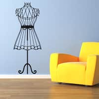 Mannequin Vinyl Sticker Wall Decor