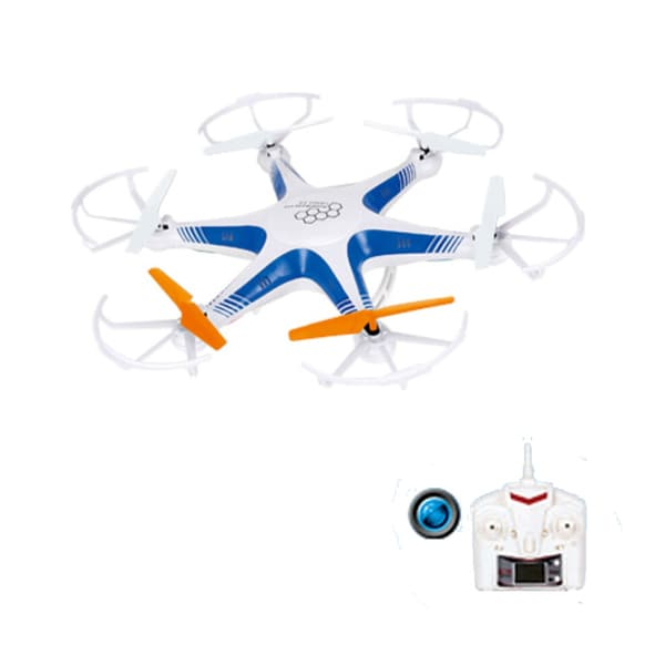 Force Flyers 2.4G 4-Channel RC Drone with Camera