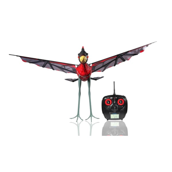 Paul G Toys Remote Control Red Pterodactyl