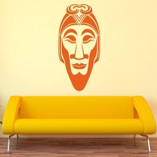 African Mask Ii Vinyl Sticker Wall Decor